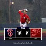Varsity Baseball beats Clinton 12 – 2 in Opener
