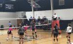 Girls Varsrsity Volleball falls to Gilbert 3 – 0