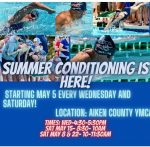 Swim Conditioning Starts May 8th. (Click Here for more information)