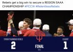 Rebels get a big WIN to secure a REGION 5AAA CHAMPIONSHIP.