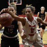 Village Christian High School Girls Varsity Basketball beat Oaks Christian High School 52-47