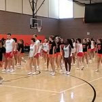 Ben Lomond and Ogden High Cheer Squads Prepare For Iron Horse