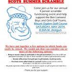 Scots Summer Scramble