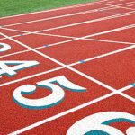 Abbott and Moffett Place at 4-A State Track Meet