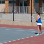 Girls tennis beats St. Joseph 4 to 1