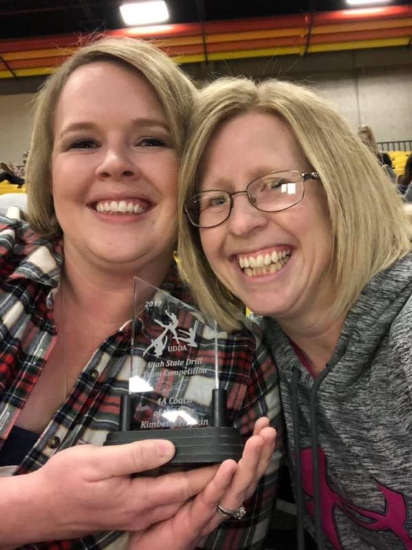 Kimberly Hopkin 4A Drill Coach of the Year!!!