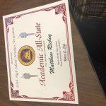 Congratulations Mathew Richey!