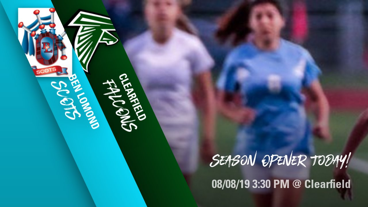 Girls Soccer Season Opener Today @ Clearfield 3:30 PM