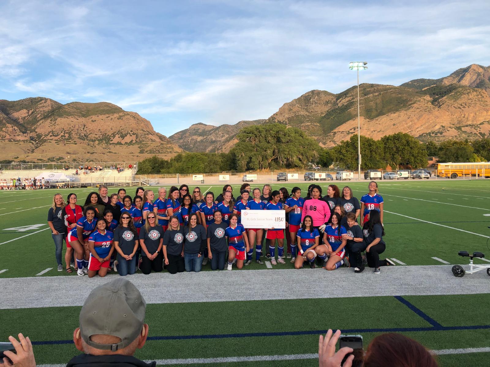 Return of the '89 State Champion Girls Soccer Team!