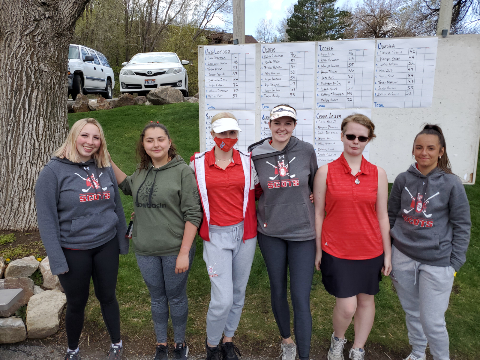 Girls Golf places Fifth.