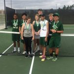 Tennis racked up 8 medals