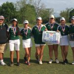 Huntsville High School Coed Varsity Golf finishes 2nd place