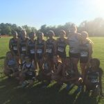 Huntsville High School Girls Varsity Cross Country finishes 4th place