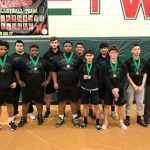 Coed Varsity Powerlifting finishes 4th place at 2/17/18 Woodlands Power lifting meet (Boys only)