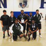 Coed Varsity Powerlifting finishes 1st place at 2/24/2018 Navasota (Boys Only)