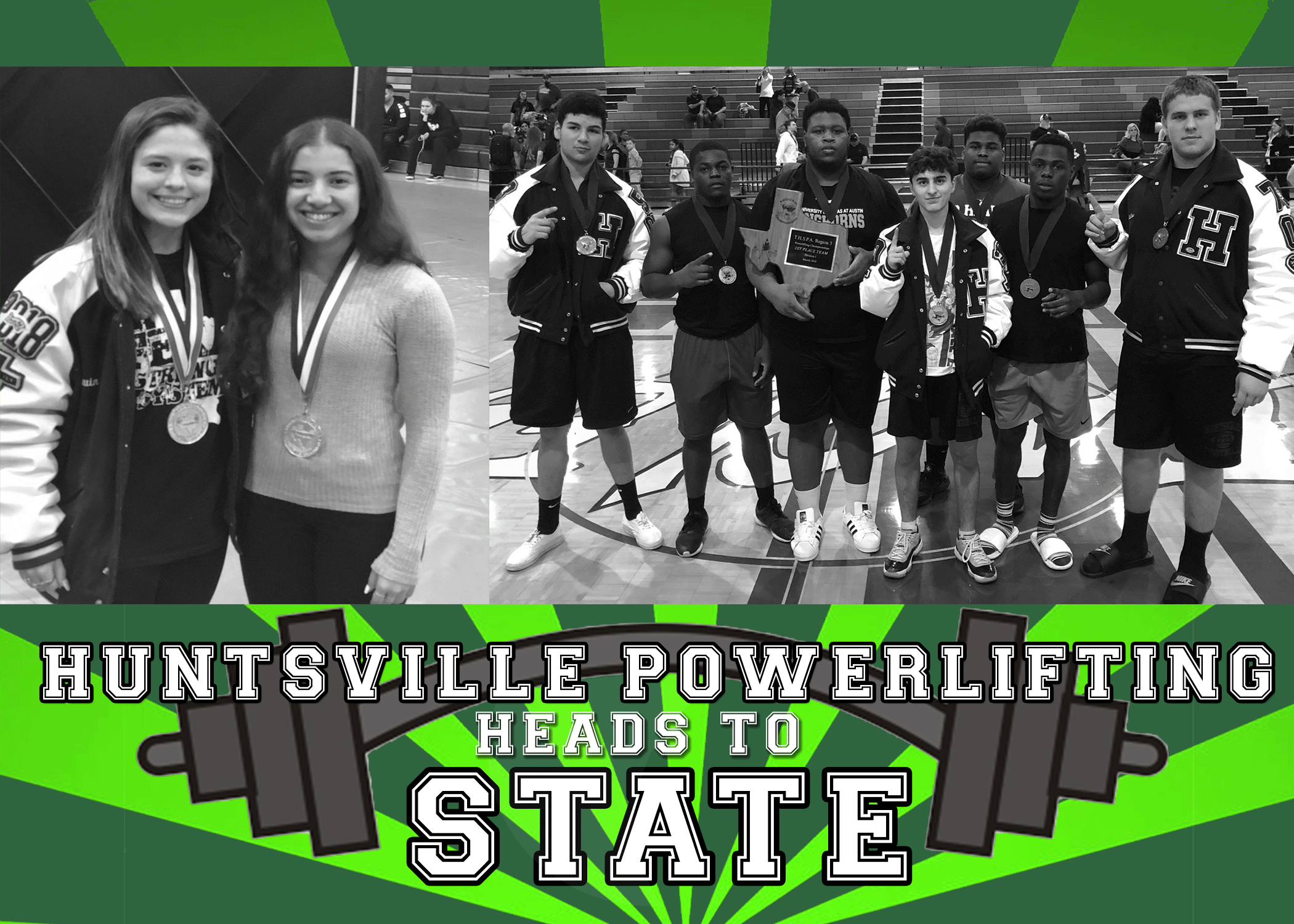 Huntsville Power Lifting Teams head to STATE!