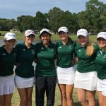 Coed Varsity Golf finishes 4th place at Girls Varsity District Tournament