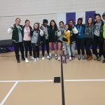 girls varsity wrestling take 1st