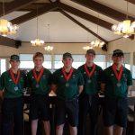 Huntsville Hornet Boy's Varsity Golf finishes 2nd at Trinity Tiger Invitational