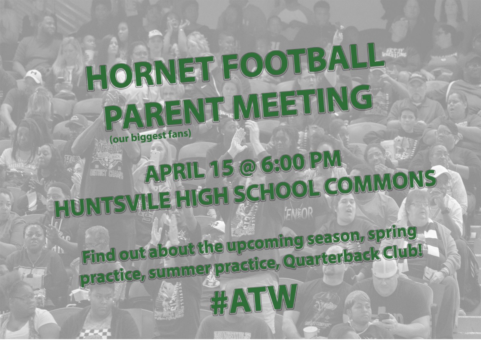 Important Meeting for ALL FOOTBALL PARENTS