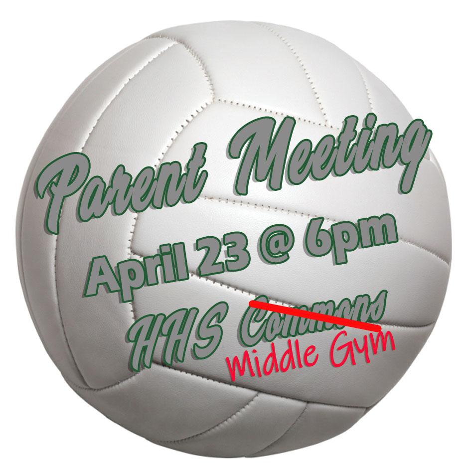 2019-2020 Volleyball Parent Meeting!