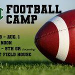 Hornet 2019 Football Camp