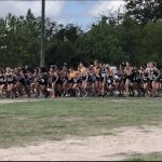 Girls Varsity Cross Country finishes 12th place at Giddings Meet