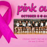 PINK OUT Lady Hornet Volleyball Game