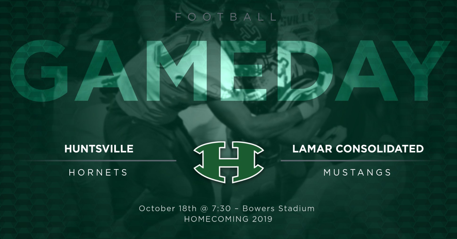 Game Day 10.18 – It's Homecoming!