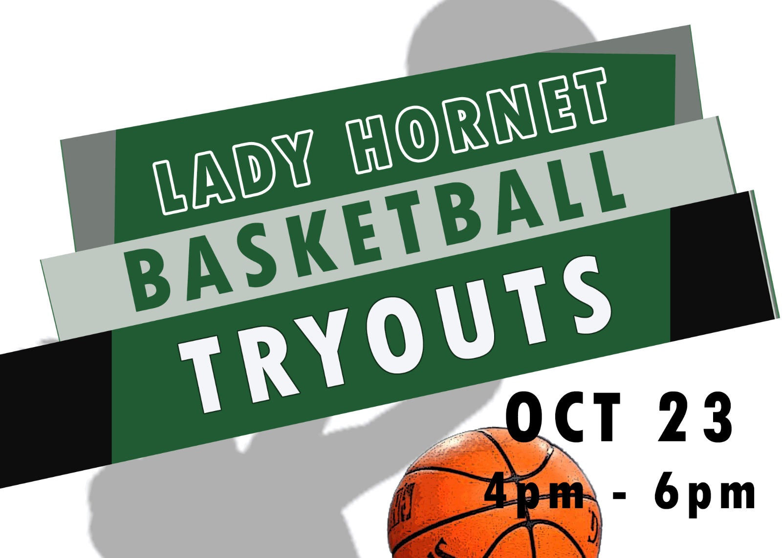 Lady Hornet Basketball Tryout Information