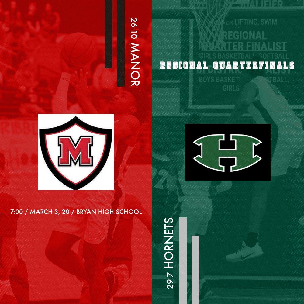 Hornet Basketball moves on to Regional Quarterfinals