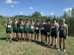 Boys Varsity Cross Country finishes 2nd place at Camp Tejas Invitational