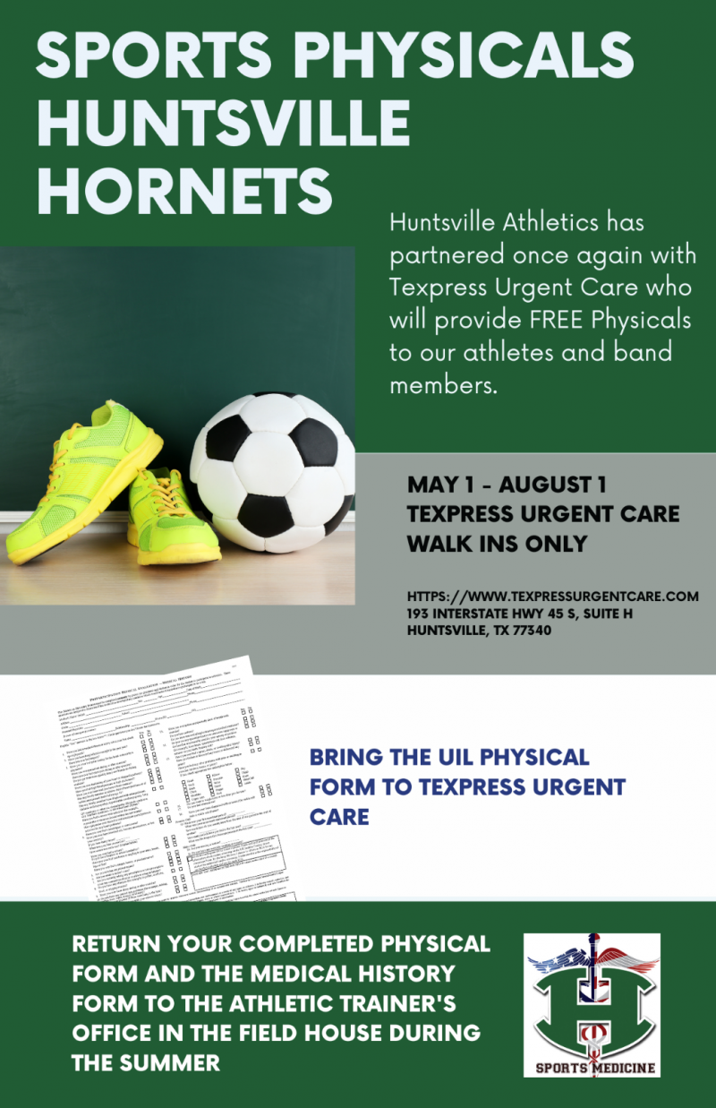 SPORTS PHYSICALS AND ONLINE SPORT REGISTRATION