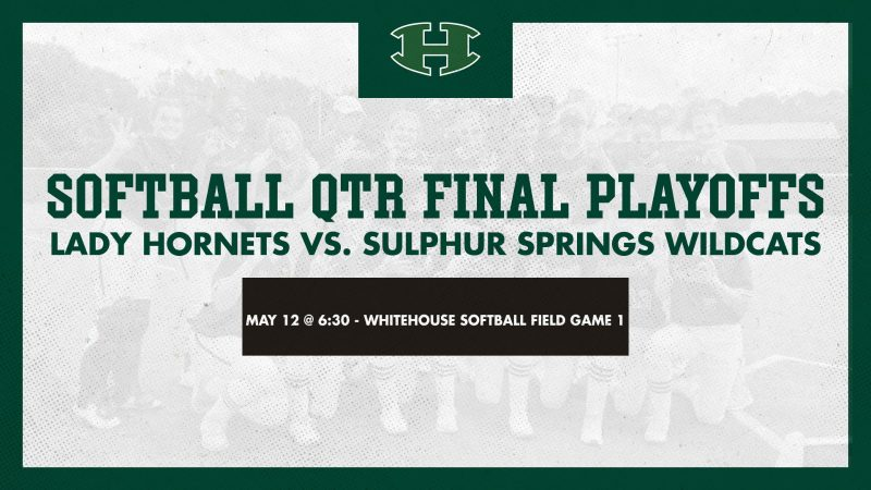Lady Hornet Softball Moves on to Quarterfinal Playoffs