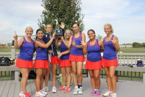 Women's Tennis SWOC Champs