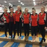 Verona Area High School Girls Varsity Gymnastics finishes 4th place