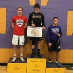 Verona Area High School Boys Varsity Wrestling finishes 7th place