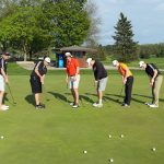 Verona Area High School Boys Varsity Golf finishes 1st place