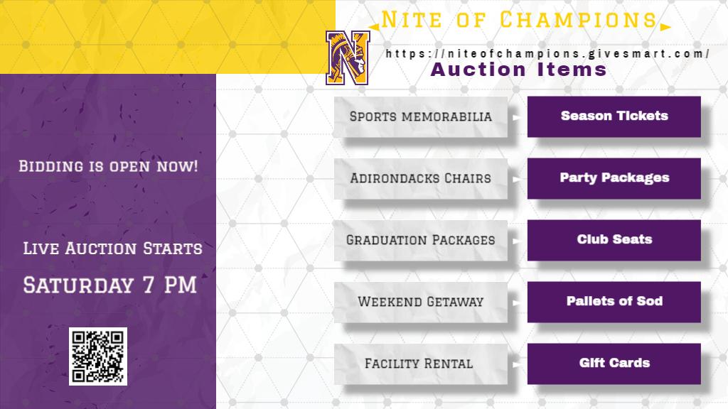 Auction is Live!