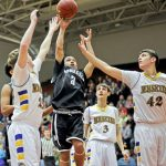 Greyhounds Boys Basketball uses strong second half to advance to PIAA Class A Quarterfinals- Trib HSSN
