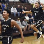 Boys Basketball's thrilling playoff win!!! Pictures/Video!!!- Trib HSSN