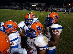 Varsity Football vs Rockville on 10-15-15