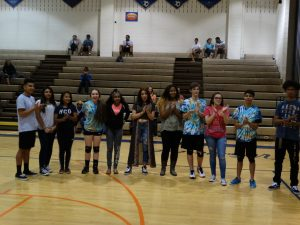 Coed and Boys Volleyball Senior Night 5/2/16
