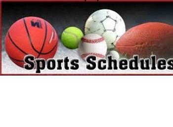 2018-2019 Sports Schedules