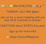 Q & A with Athletics