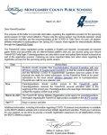 Information for registration for Spring Sports