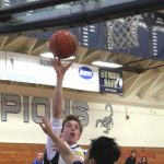 Boys Freshman Basketball beats Santa Clara 46 – 16