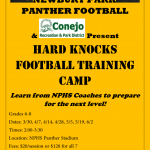 NPHS Football Hard Knocks Youth Camp