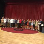 Cross Country Team Recognized by City & County
