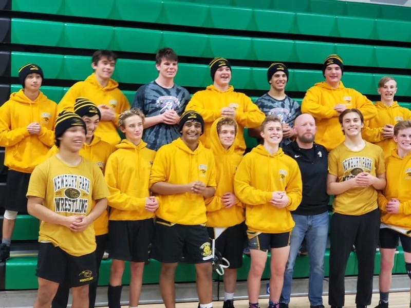 Boys Wrestling Captures Another Marmonte League Championship